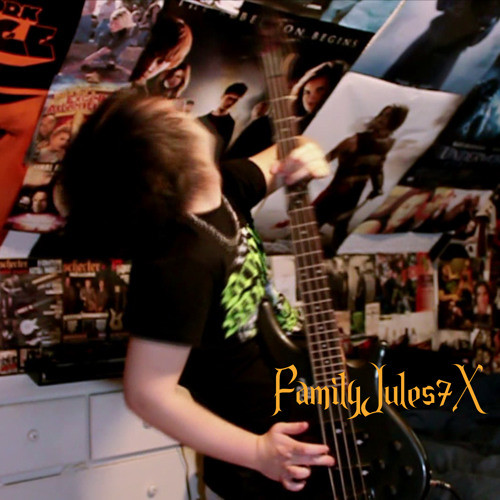 Mad Monster Mansion Guitar Cover - FamilyJules7x